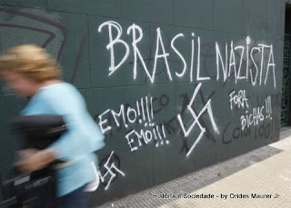 Brasil tem 150 mil adeptos ao neonazismo