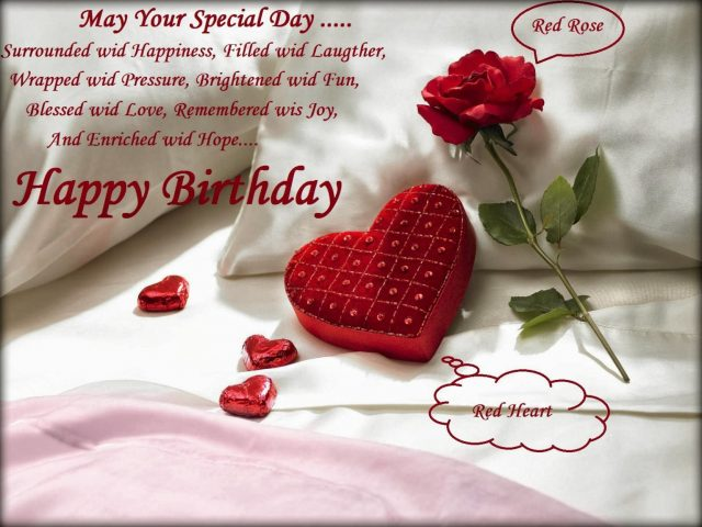 Blessing Birthday Wishes for Wife with Images