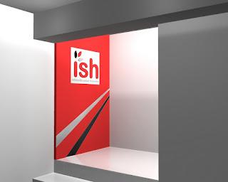 Furniture Kantor Semarang - Background Dinding Logo Perusahaan