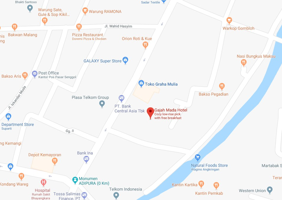 Detail Hotel Gajah Mada Lumajang Brrrwisata Com