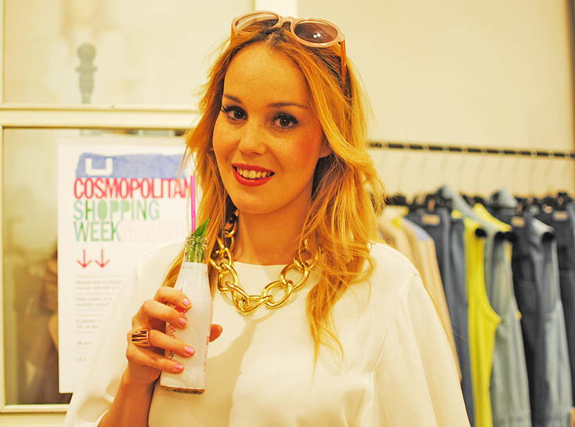 Cosmopolitan shopping week Madrid, SNB BLOG, Nery Hdez,Carpa Callado , PinkCow, Adolfo Dominguez
