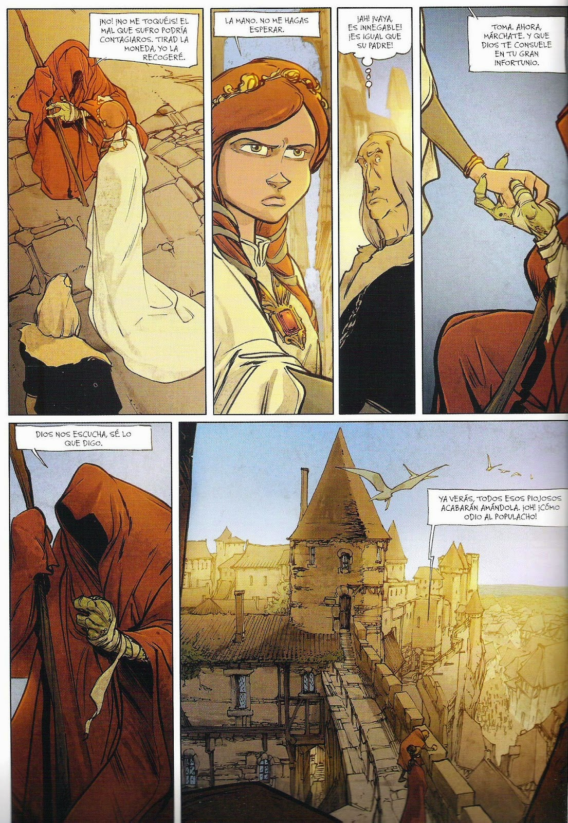 sortilegios comic dufaux munuera norma editorial