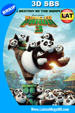Kung Fu Panda 3 (2016) Latino 3D SBS 1080P ()