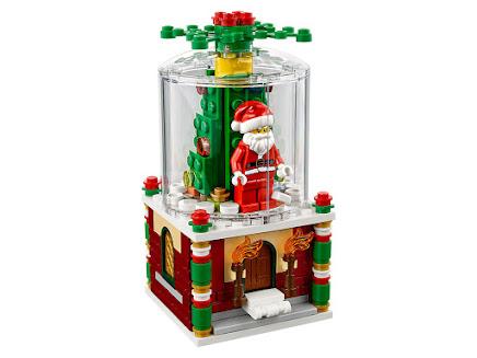 LEGO 40223 - Śnieżna kula