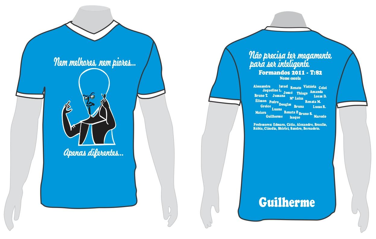 Camisetas Formandos 3 Ano Ensino Medio