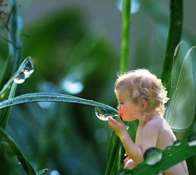 bebek-açı ile-su-inci