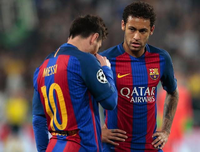Đề xuất bất ngờ của Messi trước khi Neymar ra đi