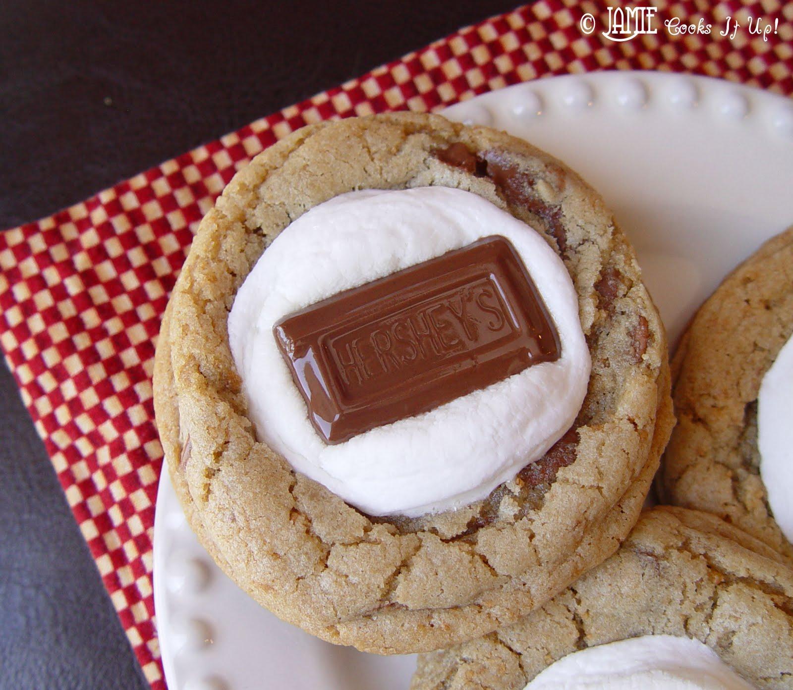 Fun Bbq Recipes: Smore Cookies