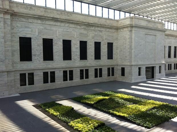 Rafael Violy' Atrium Cleveland Museum Of Art Architectural Ceramics Tile Mosaic