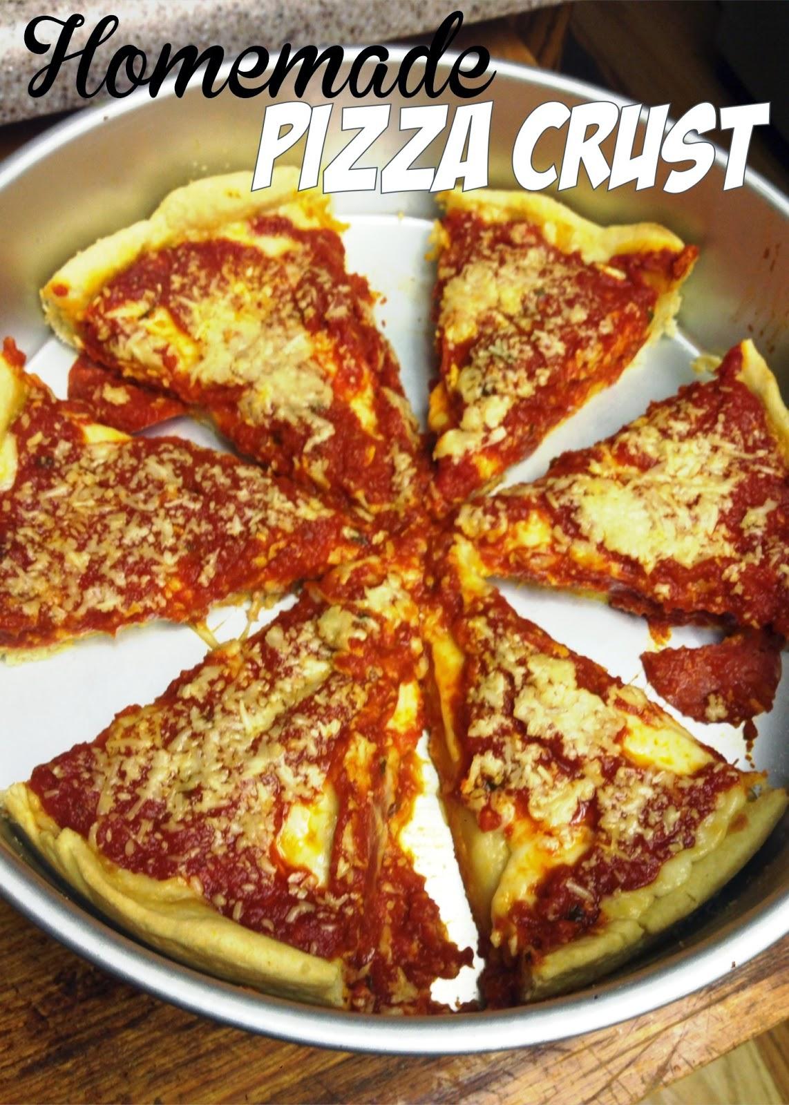 Chicago Deep Dish Pizza Buttercrust