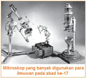 Perkembangan biologi ditemukannya mikroskop