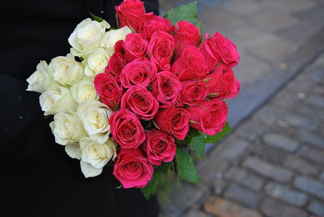 Rosen aus dem Müll