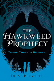 The Hawkweed Prophecy by Irena Brignull book cover