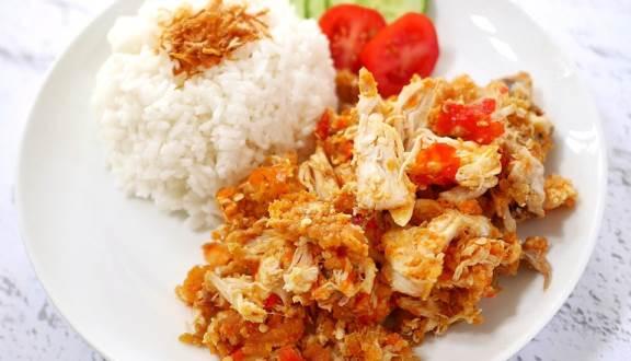 Ayam geprek Mas Eko Jakarta Barat