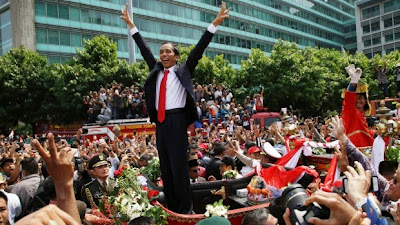 Indonesia's President Joko 'Jokowi' Widodo