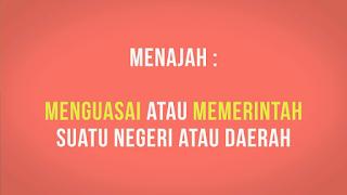 Arti Kata Menjajah Menurut Kamus Besar Bahasa Indonesia KBBI