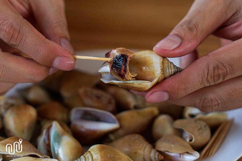 ภาพอาหารร้านวังทรายซีฟู้ด อ่าวนาง กระบี่