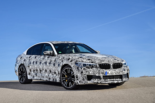 2018 BMW M5 Camouflaged - #BMW #M5 #Camouflaged #tuning