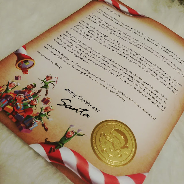 Letter from Santa, personalize gift