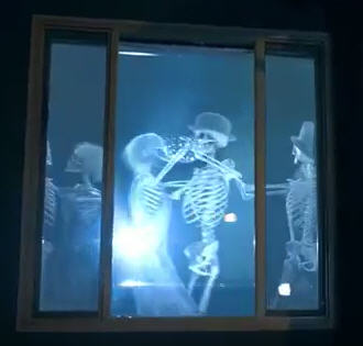 Halloween Window Projection Download