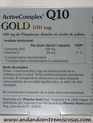 ActiveComplex Q10 Gold De Pharma Nord
