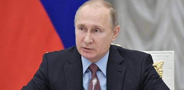 Vladimir Putin: Rusia Ikut Berduka atas Tsunami di Selat Sunda