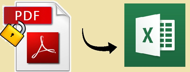 how to change secured pdf document