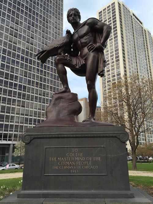 Goethe Denkmal Chicago