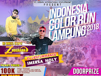 Indonesia Color Run Lampung 2018, Kuy Ramaikan!