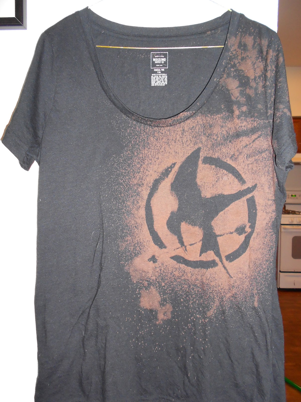 I Was (p)Inspired: Kara's DIY Bleach Design T-Shirt