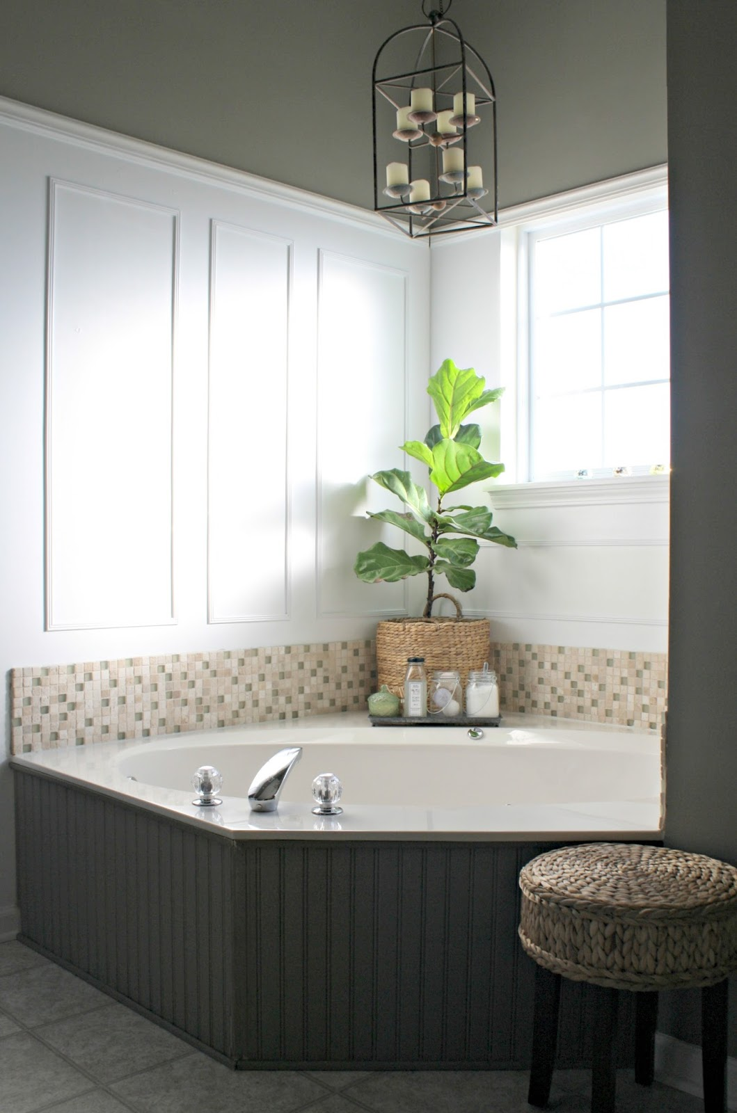 master bathroom reno plans from thrifty decor chick. Black Bedroom Furniture Sets. Home Design Ideas