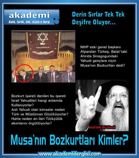 Alparslan Türkeş, Cumhuriyet Tarihi, İsrail, Munis Tekinalp(Moiz Kohen), Türkçülük akımı, yahudilik, Ziya Gökalp,