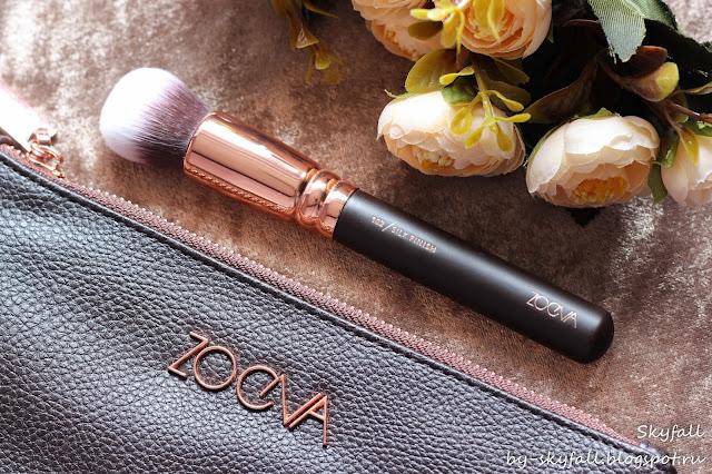Zoeva 102 Silk Finish, кисть для тона, отзывы