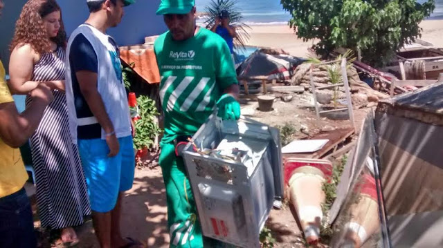 Detectado foco de dengue na praia da Mariquita