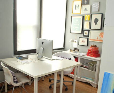 Surprising Home Office For Two How To Make The Space Work Decorology Largest Home Design Picture Inspirations Pitcheantrous