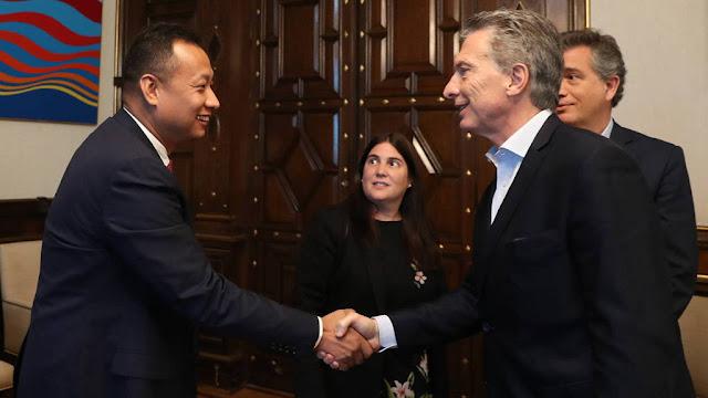 Macri recibió al CEO del conglomerado chino Fosun Infraestructure Group