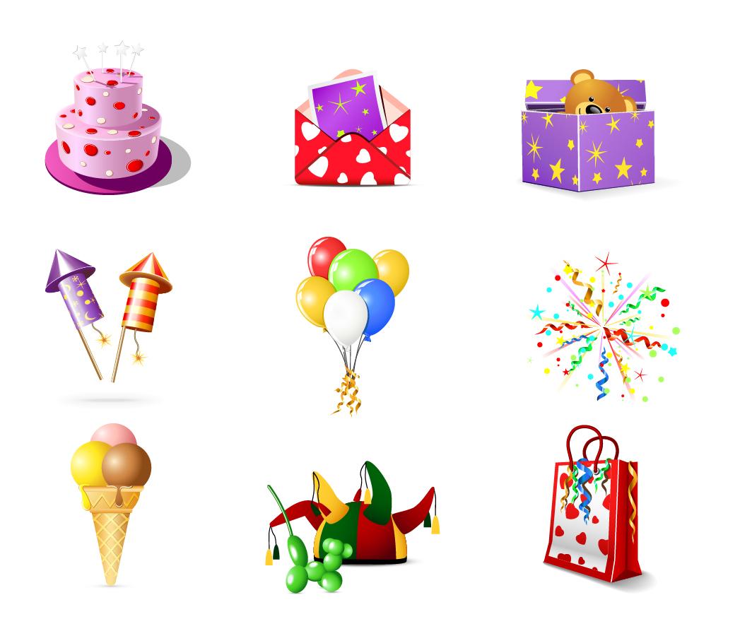 カレンダー カレンダー デザイン フリー : Free Birthday Icons