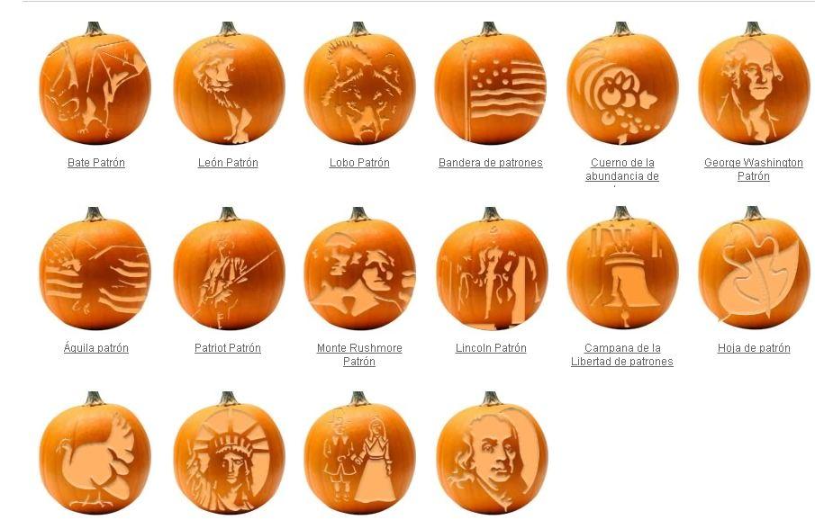 Como hacer manualidades para halloween todo halloween 2011 - Como vaciar una calabaza ...