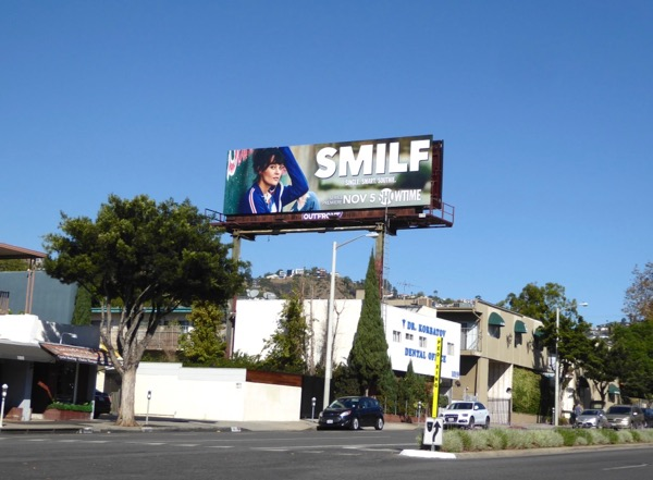 SMILF TV billboard