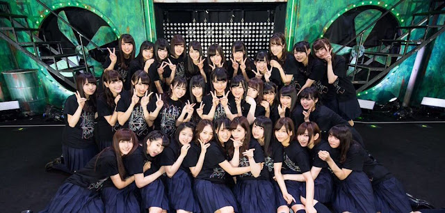 Keyakizaka46 top idol group