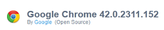 Google Chrome 42.0.2311.152 Free Download Latest Version