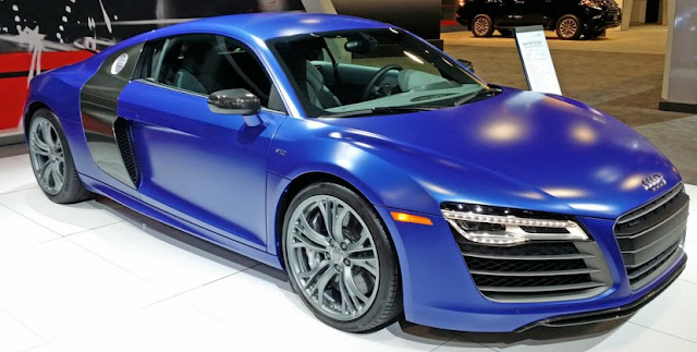 Cars audi r8 Color Blue