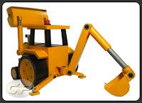 Download Scoop of Bob the Builder paper model plan