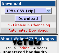 ip2country csv