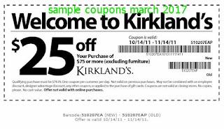 Kirklands coupons march 2017
