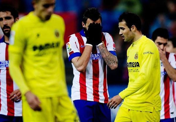 El Villarreal gana con eficacia al Atlético (0-1)