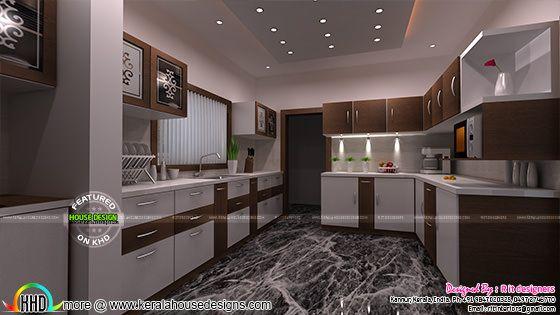 Kitchen interior 2017