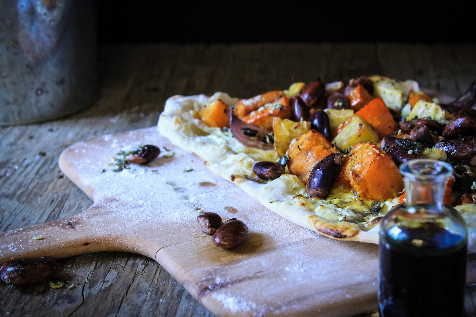 Fall Bounty Flatbread
