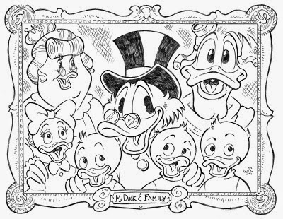 kids drawing pages coloring sheets | Ducktales Coloring Pages - Disney Coloring Pages