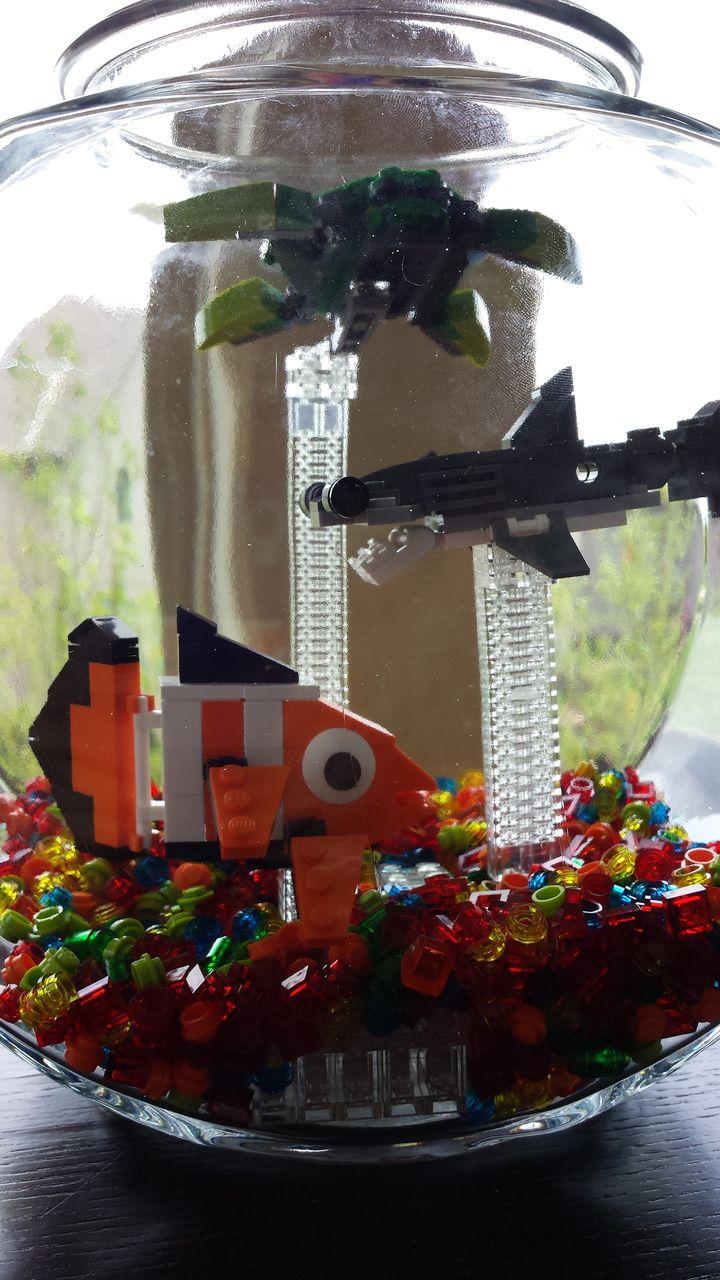 Lego Bricks And Pieces